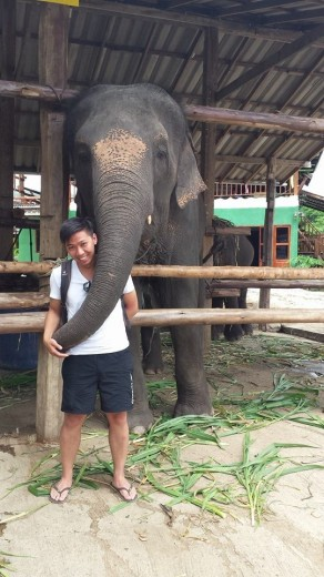 Making new friends in Pai!