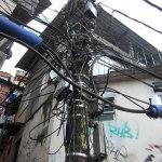 Powerlines in favelas