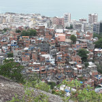 Favela near Copacabana