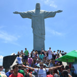 Christ the Redeemer + 100 tourists