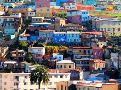 Bohemian city - Valparaiso