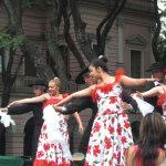 Tango dancing at the feria de Mataderos