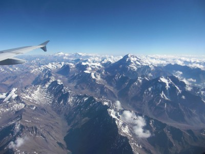 Los Andes - Can almost touch it...