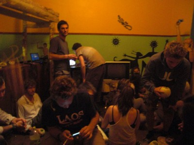 Full house at the hostel!