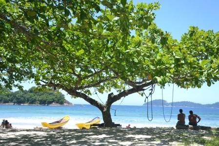 Dois Rios beach at Ilha Grande