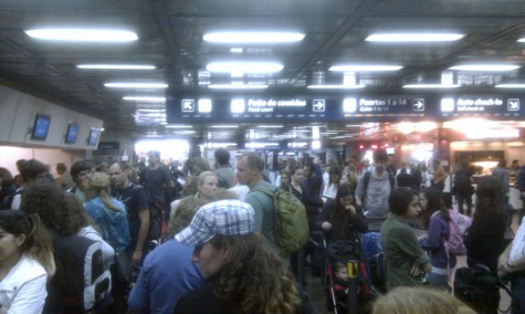Buenos Aires airport 4 am.
