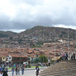 View from Plaza de Armas - Cusco