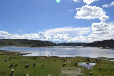 Amazing landscapes around Puno
