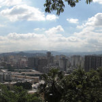 Panoramic view of Caracas