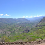 Great view of the terrasses between Tapay and Cabanaconde
