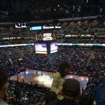 Full house at the stadium for the Nuggets Clippers game