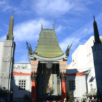 Chinese theatre on Hollywood boulevard
