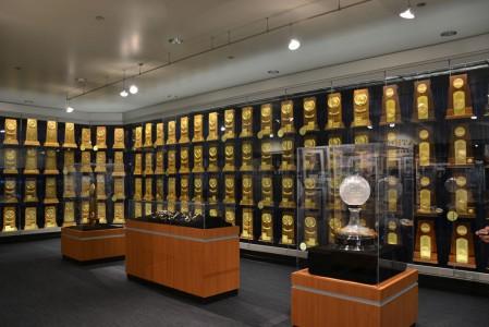 UCLA troph room & Hall of Fame goes a long way back