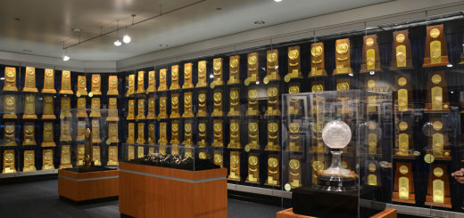 UCLA troph room & Hall of Fame goes a long way back