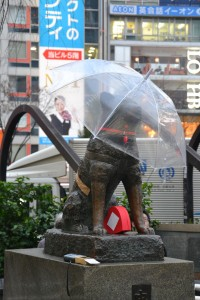 Hachiko statue in Shibuya