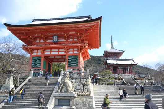 Entrance of Kiyomizu-dera