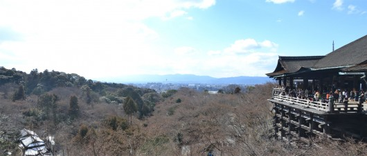 View from the Kiyomizu-dera