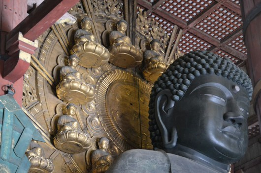 Detail of Daibatsu - Giant buddha