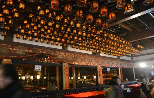 Main hall of Okunoin