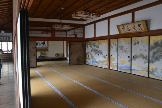 Interior of a traditional Japanese house