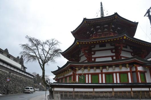Amazing shrines in Koya town