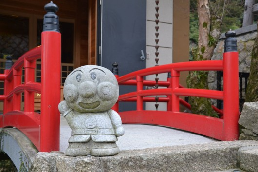 Anpanman statue in Daisho-in