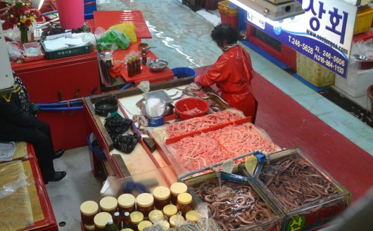 Jagalshi indoor fish market