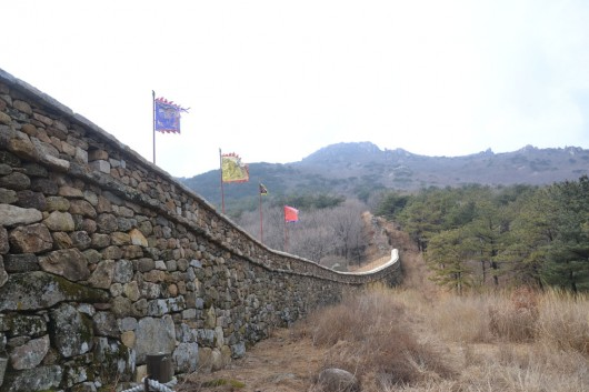 Walls of the Geumjeong fortress