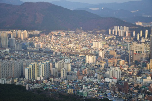 View from the Geumjeong fortress