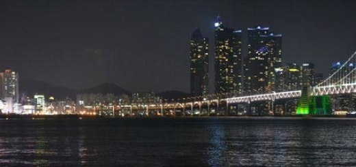 Panoramic view of Busan