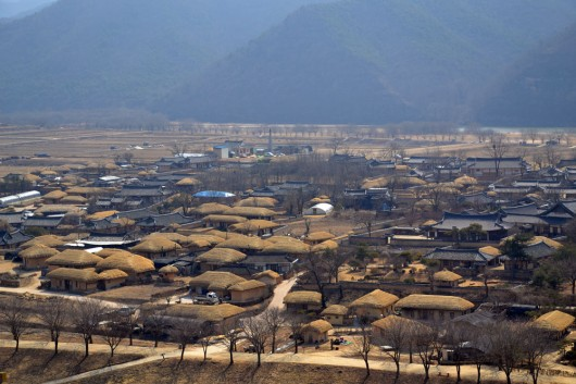 Overview of the Andong folk village
