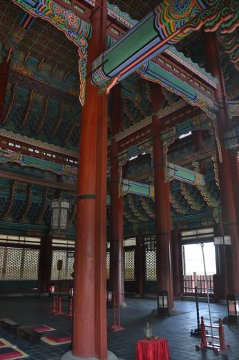 Grand hall in Gyeongbok-gung