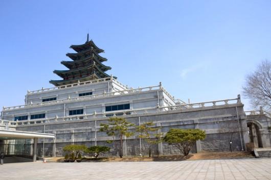 National folk museum inside of Gyeongbok-gung