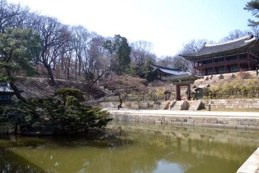Huwon, secret garden of Changdeok-gung