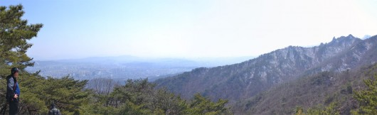 Panoramic view from Dobongsan