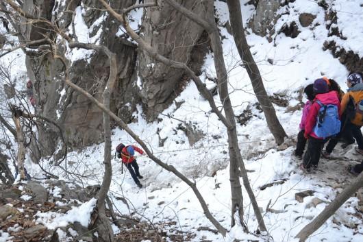 Tough hike on Dobongsan