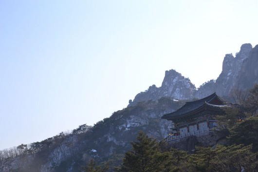 View of Dobongsan ( Bukhansan national park)