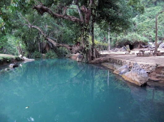Blue lagoon, take a relaxing swim in the ice cold water. Water swing included