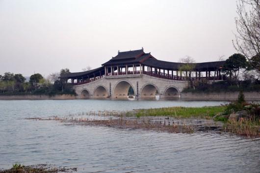 Changchun bridge on the Taihu lake