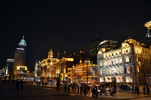 French influenced architecture on The Bund