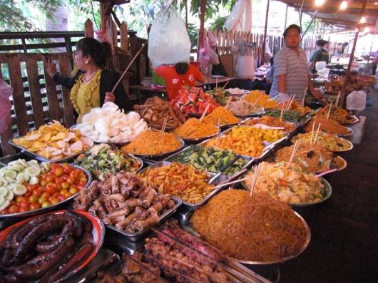 Cheap buffet at the nightmarket!