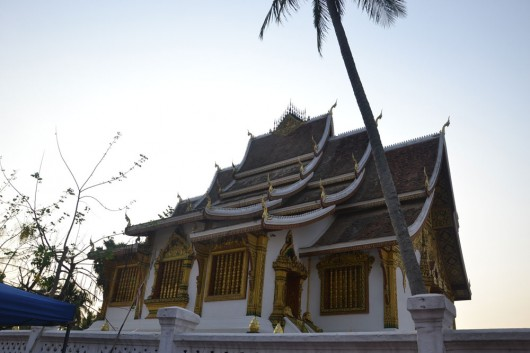 Great Lao architecture in the religious buildings