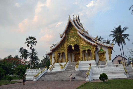 One of the amazing temples in Luang Prabang