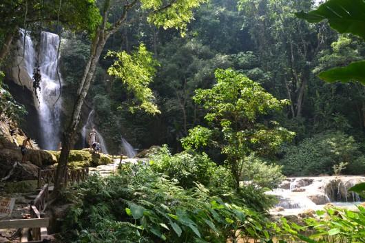 Waterfall at Tat Kuang Si