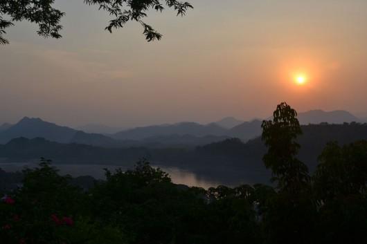 Sunset in Luang Prabang