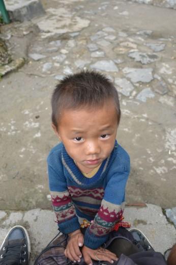 Random kid I met in the nearby villages of Sapa