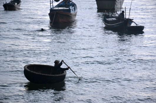 Fishing pods in Nha Trang