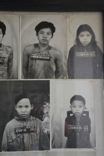 Photographs of some of the former (really young) prisoners