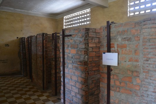 S21 Prison detaining cells