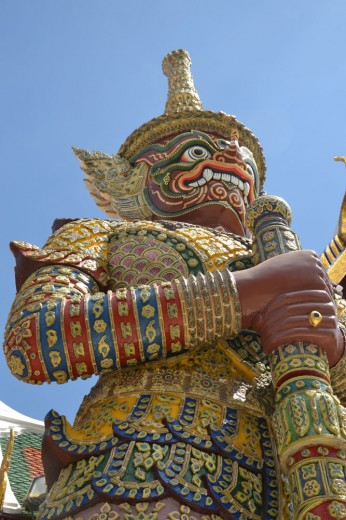 One of the demon guardians in the Royal Palace